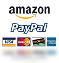 accept major credit cards and paypal