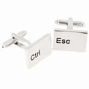 Esc & Ctrl Cufflinks Keyboard Cufflinks