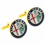 Alfa Romeo Logo Automotive Car Cufflinks