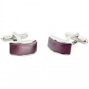 Purple Opal Cufflinks