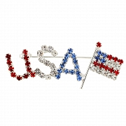 Patriotic Brooches and Pins